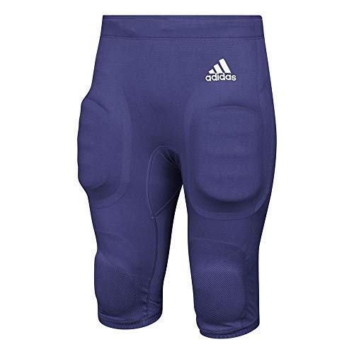 adidas Men's Primknit A1 Fb P Athletic Pants, Collegiate Purple/White, 3X-Large