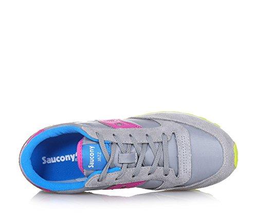 SAUCONY zapatillas de deporte de los zapatos de bebé Low Boy SC56443 Original Jazz GRIS