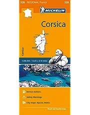 Michelin France: Corsica Map 528
