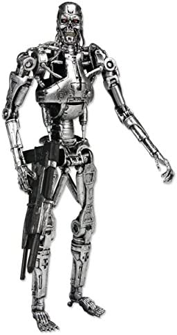 FIGURA TERMINATOR T-800 Endoskeleton Neca 18cm Figure with box//caja