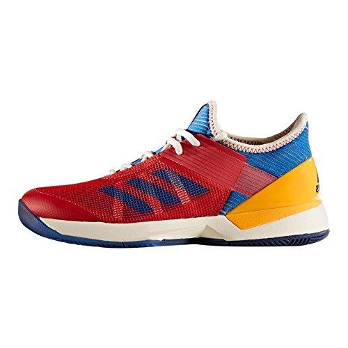 Adidas | Women`s Adizero Ubersonic 3 Pharrell Williams Tennisschoenen Krijt Wit En Blauw | S81005-f17