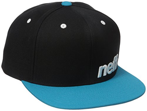 Price comparison product image neff Men's Daily Cap, Black/Cyan, One Size