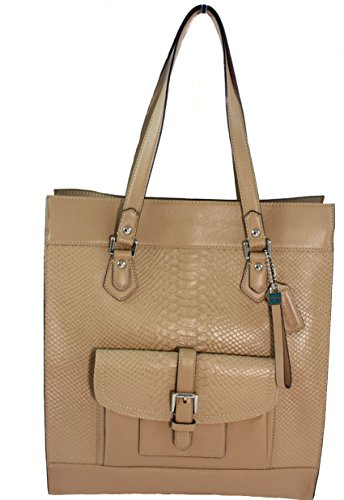 Coach Charlie Leather Shoulder Tote - ()