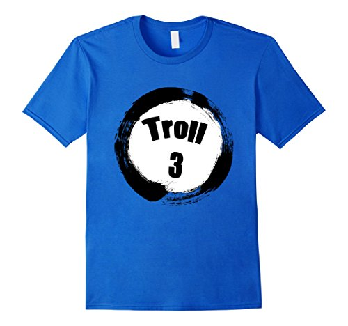 Costumes For A Group Of 3 (Mens Troll 3 Halloween Group Costumes Trick or Treat T-shirt Medium Royal Blue)