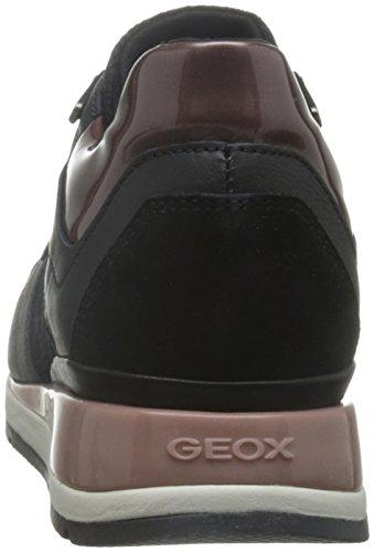 A Geox D Schwarz Blackc9999 Ginnastica Scarpe Donna Basse da Shahira ppEqP