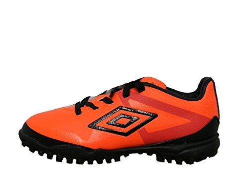 Umbro 80925U-Dk9 - Botas para niño, color naranja fluor / negro / blanco, talla 31