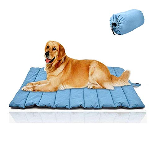 """Cheerhunting Outdoor Dog Bed 43""""x26"""", Waterproof, Washable,Large Size, Durable,Water Resistant, Portable and Camping Travel Pet Mat"""