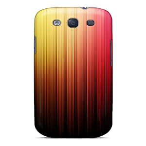 Tpu Shockproof/dirt-proof Abstract Nice Colors Cover Case For Galaxy(s3)