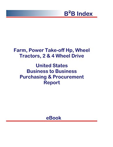 Farm, Power Take-off Hp, Wheel Tractors, 2 & 4 Wheel Drive United States: B2B Purchasing + Procurement Values in the United States