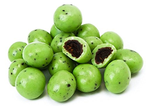 Green Mint Chocolate Espresso Beans - 1 Lb by WinCrest BulkFoods