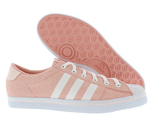 Zapatillas Mujer Adidas Vulc Star Lo Talla Melon Blanco