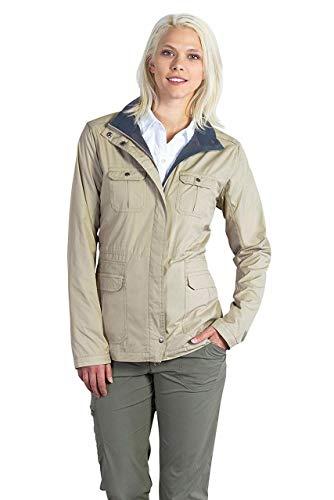 ExOfficio Women's FlyQ Jacket, Tawny, Medium ()