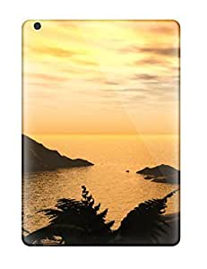 Anti-scratch And Shatterproof Beach S Phone Case For Ipad Air/ High Quality Tpu Case