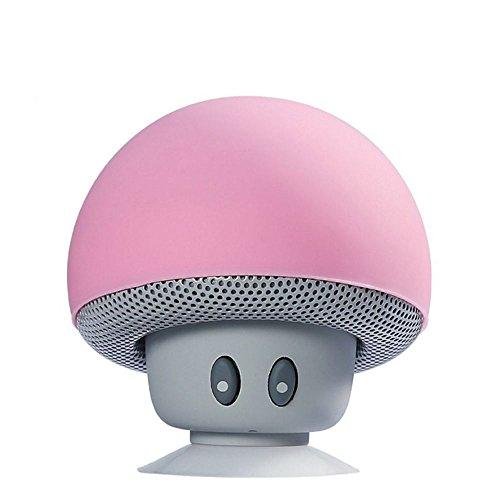 TinyFin Mini Bluetooth Wireless Portable Mushroom Speaker Wi