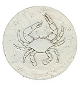 Super Absorbent Stoneware Drink Coasters - Blue Crab - Set of 4