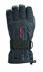 Seirus Innovation 1208 Skelton Winter Cold Weather Unisex Glove - Built in Support and Removable Wrist Protection to Prevent Injury
