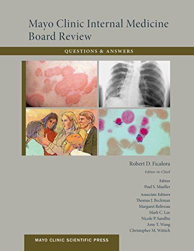 Mayo Clinic Internal Medicine Board Review Questions and Answers (Mayo Clinic Scientific Press) Pdf