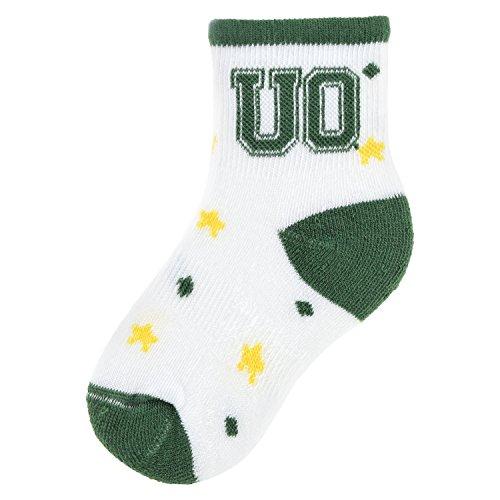 NCAA Oregon Ducks Kids Star Socks, 6-12 Months, White