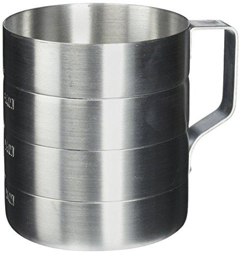 Crestware 1-Quart Aluminum Dry Measures
