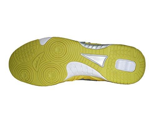 AGLA Condor Light Indoor - Zapatillas de Fútbol Sala Para Mujer GIALLO/BIANCO/BLU