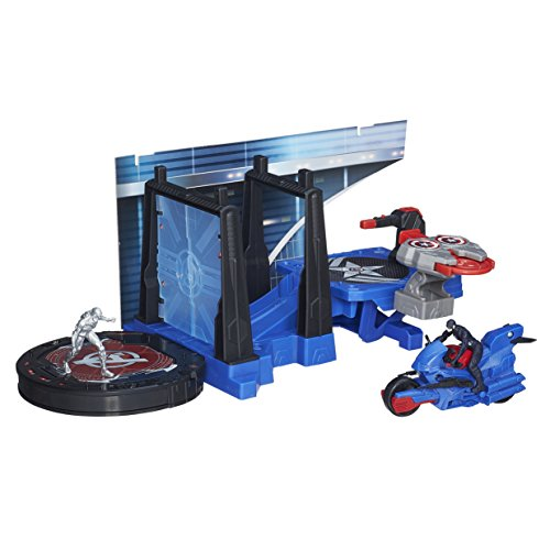 Marvel Avengers Age of Ultron Captain America Tower Defense Playset