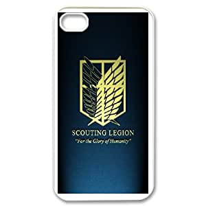Attack On Titan case generic DIY For iPhone 4,4S MM9W784398
