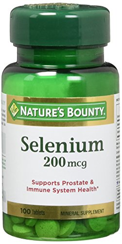 Natures Bounty Selenium 200 Tablets