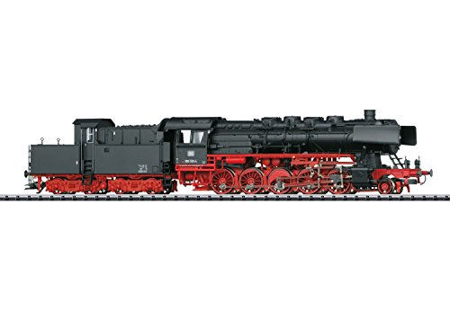 CLASS 050 2-10-0 W/CABIN (DOGHOUSE) TENDER W/SOUND & DCC/SX -- GERMAN FEDERAL RAILROAD DB #050 045-4 (ERA IV 1970, BLACK, RED)