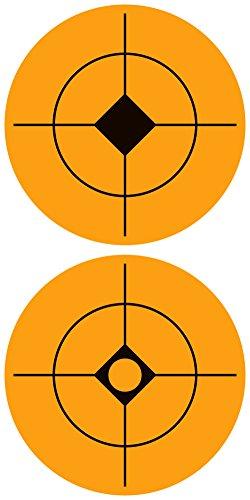 Pop Resin 500-2-Inch Orange Target spot Assortment (Orange 2) ()