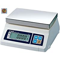CAS SW series SW-1 (10lb) Portion Scale, 10 lb by 0.005 lb, NTEP Legal For Trade, Lb/g/kg/oz Switchable, NEW