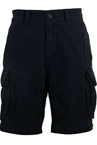 Polo Ralph Lauren Mens Twill Flap Pockets Cargo Shorts Size: 29