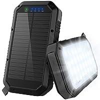 Solar Charger, 25000mAh Solar Power Bank...