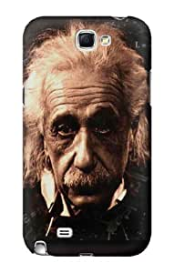 S0145 Albert Einstein Case Cover for Samsung Galaxy Note 2