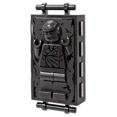LEGO Star Wars Empire Strikes Back Loose Carbonite Han Solo Minifigure [Episode V Loose]: Toys & Games