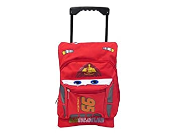 Amazon.com | Disney Cars Toddler Rolling Backpack | Kids' Backpacks