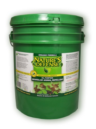 Bird-X Nature's Defense All-Purpose Animal Repellent and Pest, 50 lbs Capacity, Covers (Critter Ridder Liquid)