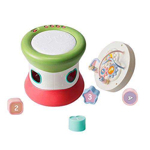 - X-CRAFT Baby Musical Toys Baby Music S Toddlers Early Education Hand Drums S Combination Set Multi-Function Music Beaded Blocks Learning S