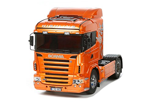 Tamiya 56338 1/14 RC Scania R470 Highline Orange Edition
