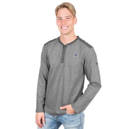 b29cdd51a Amazon.com : Dallas Cowboys Nike Long Sleeve Henley Top : Sports & Outdoors