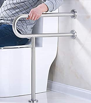 Amazon.com: Barra de seguridad para inodoro, soporte para ...