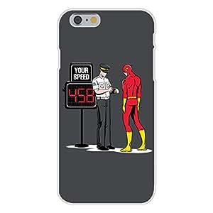 "Apple iPhone 6 Custom Case White Plastic Snap On - ""Speed Trap"