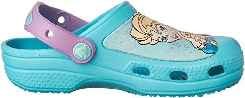 crocs CC Frozen Clog Mädchen Clogs Blau (Pool)