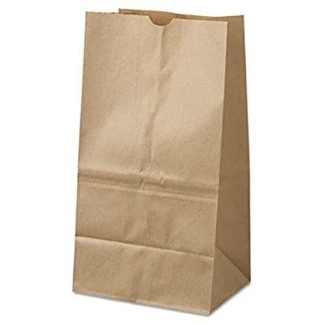 Lovely General #25 Squat Brown Paper Grocery Bags