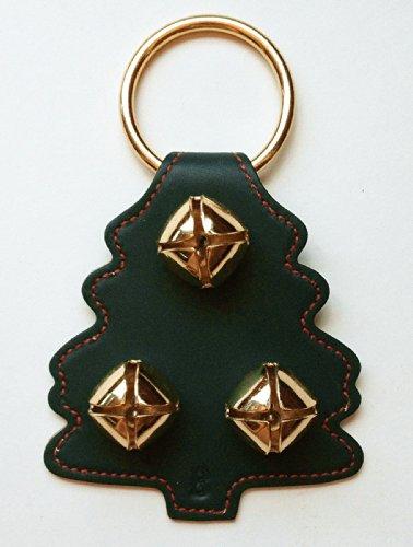 tmas Tree with Gold Plated Bells - Door Knob Bells - Jingle Bells - Sleigh Bells ()
