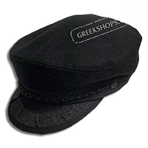 Greek Fishermans Hat Wool Black product image