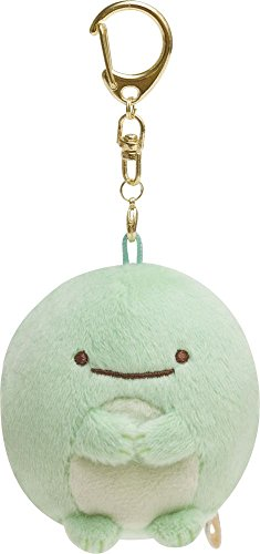 San-X Sumikko Gurashi Key Chain Plush Doll Lizard MX39301