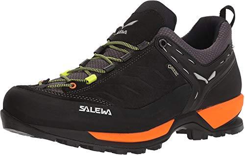 Salewa MS Mountain Trainer Gore-TEX Zapatos de Senderismo, Negro (Black Out/Holland 8668), 44.5 EU