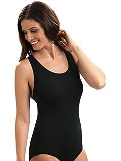 7a2c7fcb8ba Amazon.com  Dolfin Color-Block Conservative Lap Suit Womens  Sports ...