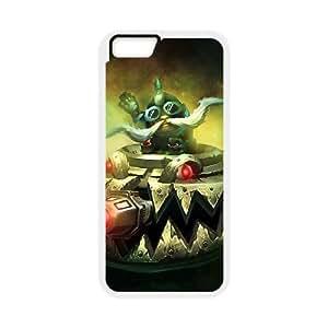 iPhone 6 4.7 Inch Cell Phone Case White League of Legends UFO Corki VA2462819