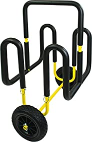 """Suspenz Double SUP Airless Cart, Yellow, 34"""""""
